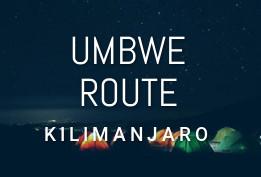 UMBWE Route (6-7 Days)
