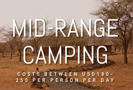 Mid Range Tented Camps